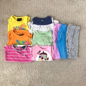 baby girl clothes lot (9-12M)